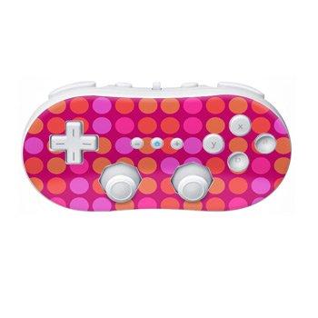 Nintendo Wii Controller Skin- Pink Dots