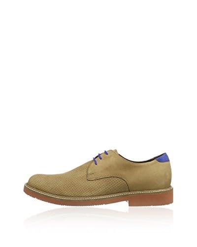 Manz Zapatos Derby Nizza Marrón
