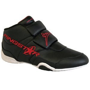 Fight Pro Martial Arts Training Shoe, Red/Black