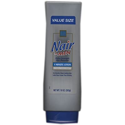 Best Cheap Deal for Nair For Men, Extra Strength Hair Remover, 4 Minute Lotion, 10 fl oz from Church & Dwight Company - Free 2 Day Shipping Available