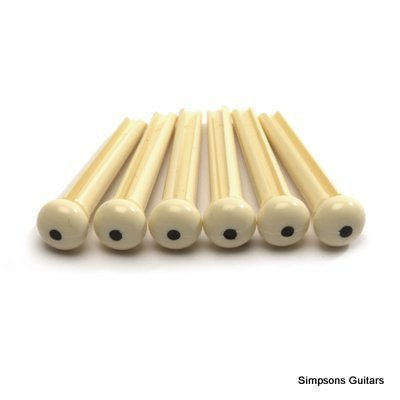 6-x-bridge-pins-for-acoustic-guitar-cream-with-black-dot