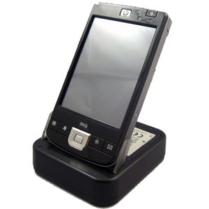 Buy Discount USB Sync & Charge USB Cradle (w/ 2nd battery support) for HP iPaq 211