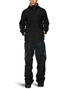 O'Neill Men's Alfa Bravo Hyperfleece Softshell Jacket Fw -  Black Out, X-Small
