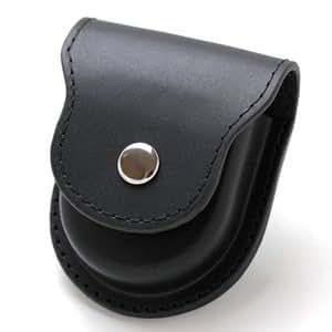 懐中時計用 レザーケース ブラック 正美堂オリジナル SP408F-BK