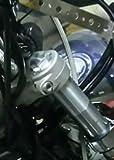弁天部品 ドラッグスター400 フロントフォークジョイント アダプター 55ミリ