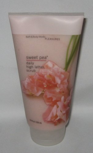 Bath & Body Works Sweet Pea Daily High Lather Scrub