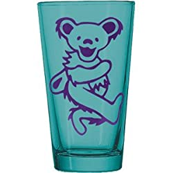 Grateful Dead Dancing Bear Pint Glass