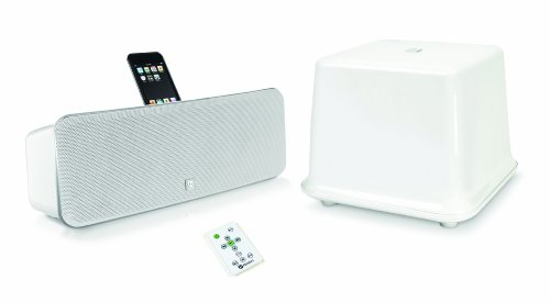 Boston Acoustics Ids3 Plus Iphone/Ipod Powered Speaker System With Wireless Subwoofer(Gloss White)