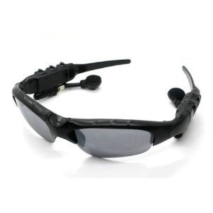 WMA + MP3 Player Sunglasses 2GB - Stereo Sound Effect