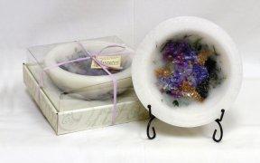 1 X Habersham Wax Pottery Vessel - Lilac Blossom (Habersham Wax Pottery Bowls compare prices)