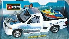 Bburago 33105 - Ford F150 Water Scooter 1:21
