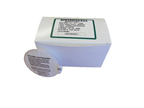 Cyalume® - Boite de 10 marqueurs circulaires lumineux LightShape® 4 heures Vert