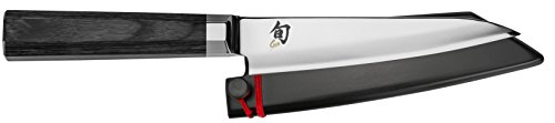 "Shun VG0016 Petty Knife, 5.5"", Silver"