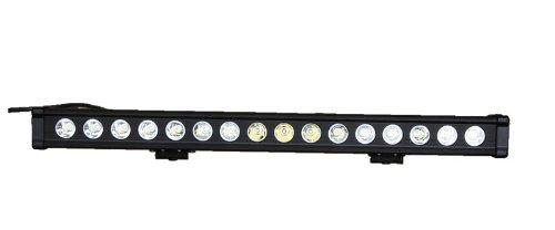 "Lite Wheels Single Row 26"" 80W Aluminum Panel Cree Spot Beam Led Work Light Bar For Suv Truck Driving"