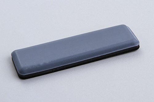 Teflon Slider Floor Protectors Set of 4 Grey 76 x 16 mm Self-Adhesive