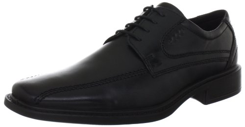 ECCO Men's New Jersey Tie Oxford,Black,44 EU (US Men's 10-10.5 M)