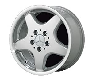 "16"" 5 Spoke ""AMG Style"" Alloy Wheels for Mercedes Benz - Set of 4 with Lug Bolts and Center Caps"