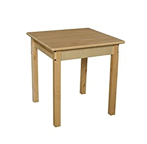 "Wood Designs WD82422 Child's Table, 24"" Square with 22"" Legs from Wood Designs Co."