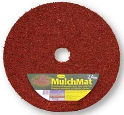 Easy Gardener Mulch Mat - 24 Inch - Red