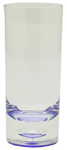 Acryl Brillenständer blau Hoher Tumbler, 12 Stück, Transparent Preisvergleich
