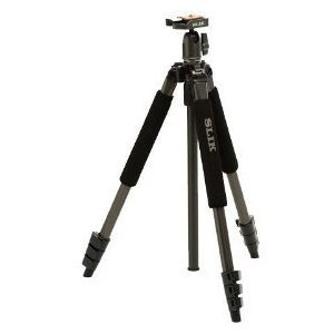 Slik Sprint Pro II Tripod - Gunmetal Finish - with Ball Head & Case