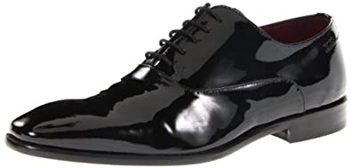 BOSS HUGO BOSS Men's Mellio Lace-Up,Black,7 M US