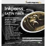 Inkpress FS111725 Fiber Satin Inkjet Paper 11in. X 17in. 25 Sheets