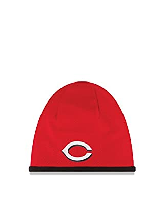 MLB Cincinnati Reds 2015 Tech Knit Beanie, Red, One Size Fits All
