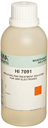 Hanna Instruments HI 7091M ORP Reducing Pretreatment Solution, 230mL Bottle