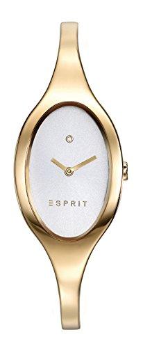 Reloj Cuarzo ESPRIT Para Mujer Con  Plata Analogico Y Oro Chapado en acero inoxidable ES906602003
