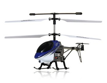 UdiRC U3 3.5-Channel RC Mini Alloy Helicopter (Blue)