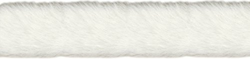 simplicity-51-mm-faux-fur-trim-and-embellishments-white
