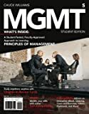 Management 5- 2013 Edition -Student Edition (5th, 13) by Williams, Chuck [Paperback (2012)]