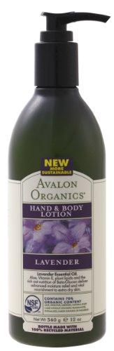 AVALON ORGANICS アバロンオーガニクス hand - 0 - body lotion Lavender 340 g