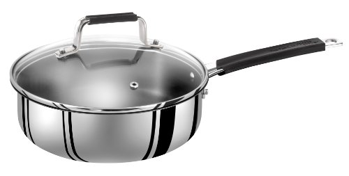 // Stainless Steel Glass Lid 28 cm Tefal Jamie Oliver Professional Series