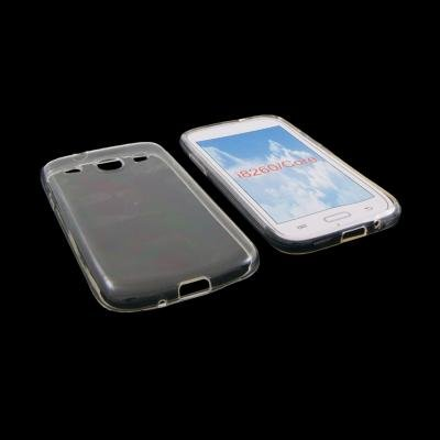 Custodia in silicone semi-rigido (TPU) trasparente per Samsung Galaxy Core I8260
