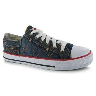 Lee Cooper Ladies Canvas Shoes
