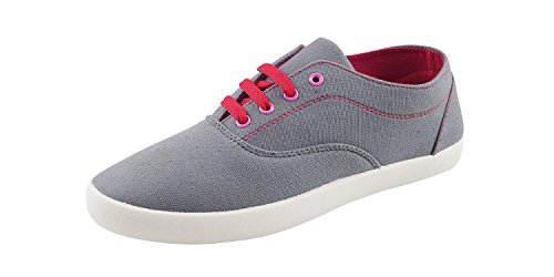 Globalite-Womens-Casual-Shoes-Sharp-Grey-Pink-GSC1128