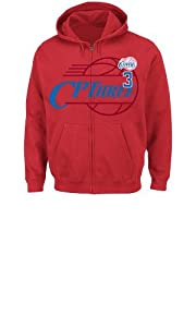 NBA Los Angeles Clippers Mens Chris Paul Deny the Ball Full Zip Hoodie by Majestic