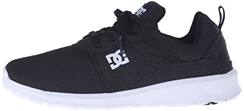 DC Heathrow SE Unisex Comfort Shoe, Black/Battleship, 10.5 M US