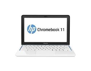 HP Chromebook 11-1126GR 29,5 cm (11,6 Zoll) Notebook (Samsung Exynos 5250, 1,7GHz, 2GB RAM, 16GB HDD, Chrome) weiß
