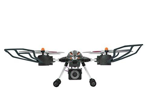 Jamara-422007-Oberon-Altitude-AHP-HD-Kamera-Quadrokopter-schwarzrot
