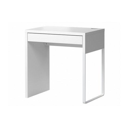 IKEA-MICKE-Schreibtisch-wei-73x50-cm