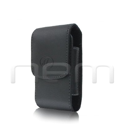 Brand New Black Vertical Leather Cover Belt Clip Side Case Pouch For AT&T Z222 Z222