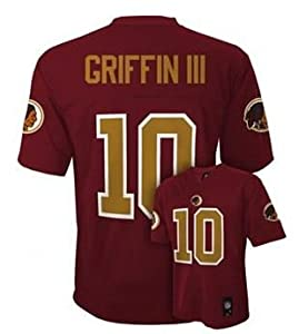 NFL Washington Redskins Robert Griffin III RG3 Youth Jersey Burgundy by OuterStuff