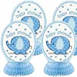 Blue Elephant Umbrella Honeycomb Cent...