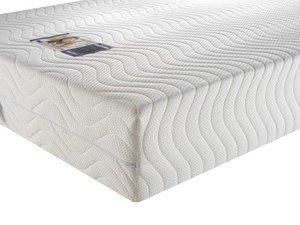 Materasso in memory foam Premium 4000, Schiuma, White, Singolo (90 x 190 cm)