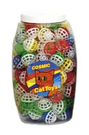 Cosmic Pet Lattice Balls Cat Toys, 120 Balls