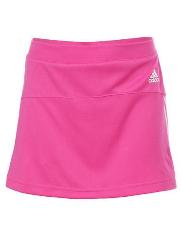Girls' adidas Response Tennis Skirt - Pink - Medium (Age 10Y)