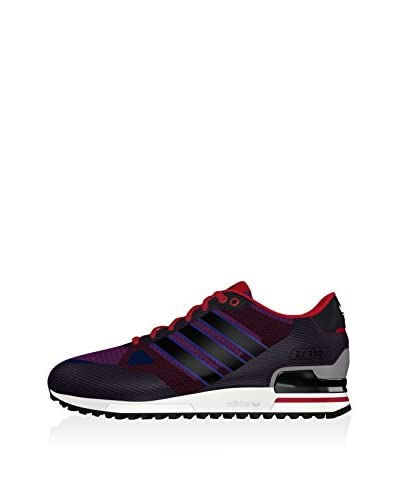 adidas Sneaker Zx 750 Wv rot/blau/pflaume